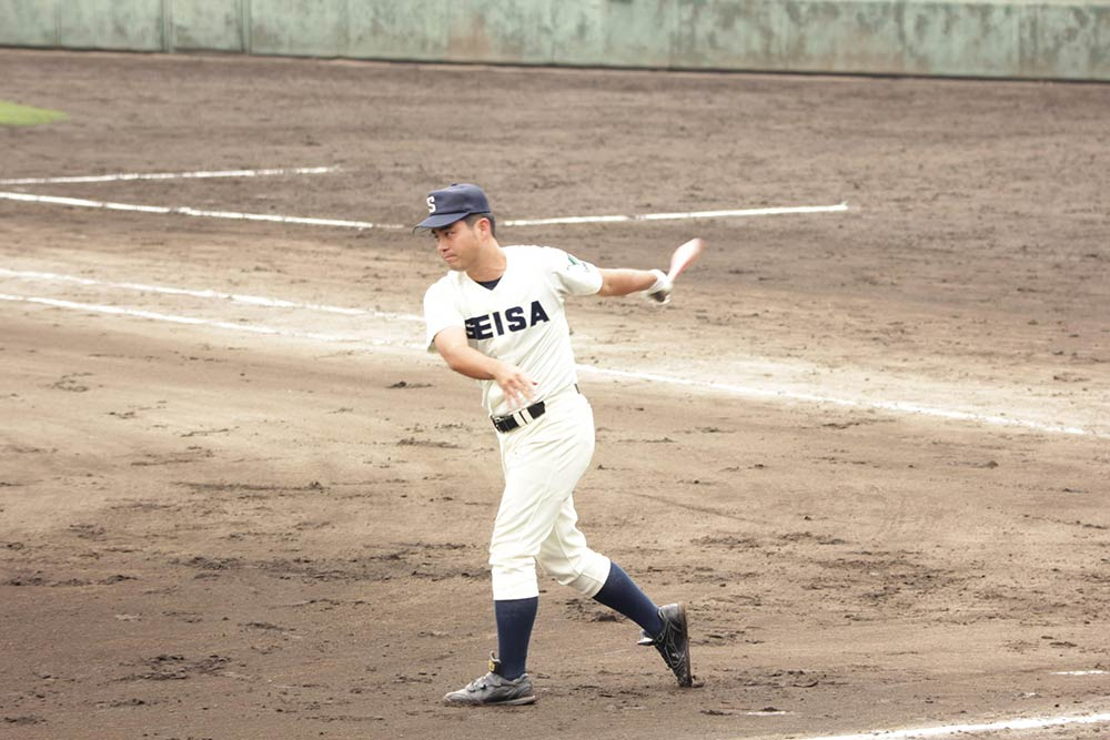 星槎国際湘南 野球専攻 佐々木部長