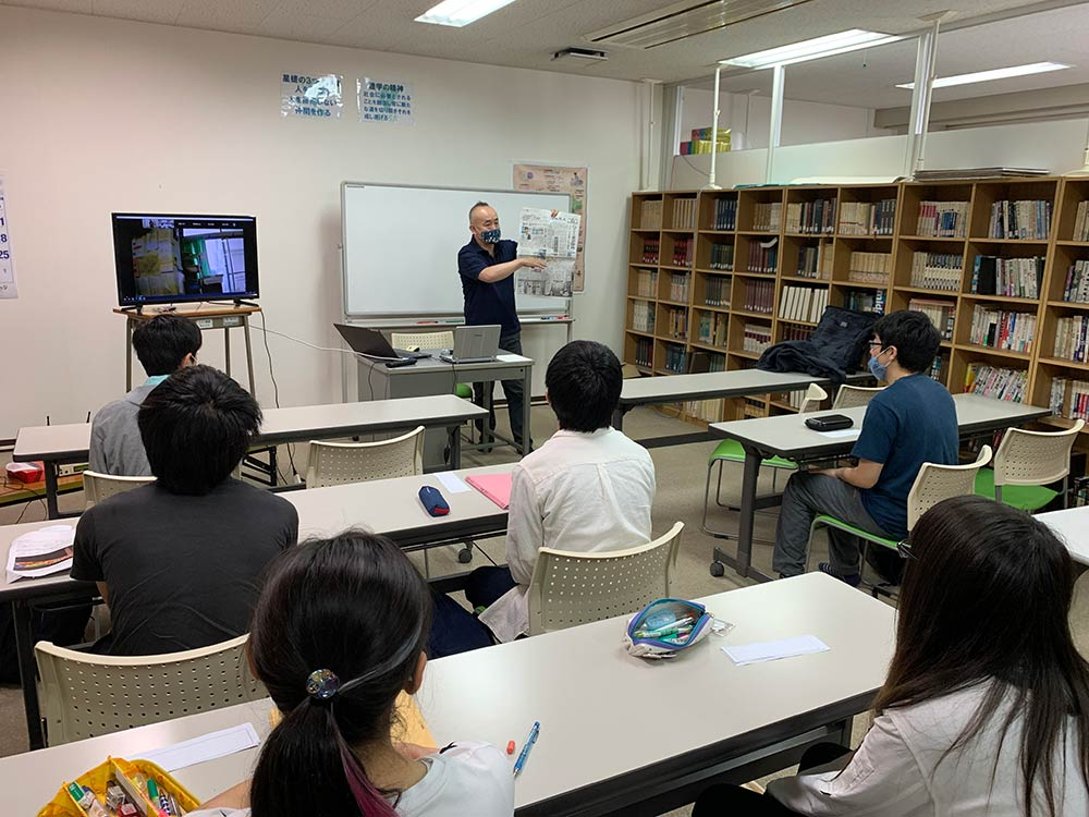 SDGs・防災ゼミ「命を守る授業」2