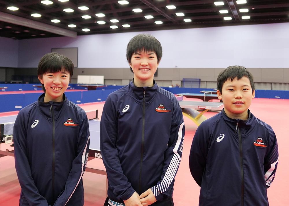 星槎中学校1年、松島輝空さん、卓球・「Tリーグ」へ最年少で参戦!